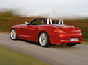 Фото авто BMW Z4 E89, ракурс: 135 цвет: красный
