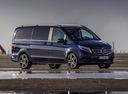 Фото авто Mercedes-Benz V-Класс W447, ракурс: 315 цвет: синий