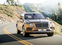 Фото авто Bentley Bentayga 1 поколение, ракурс: 315 цвет: бронзовый