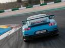 Фото авто Porsche 911 991 [рестайлинг], ракурс: 180 цвет: аквамарин