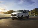 Фото авто Ford EcoSport 2 поколение [рестайлинг], ракурс: 45 цвет: белый