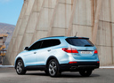 Фото авто Hyundai Santa Fe DM, ракурс: 135 цвет: голубой