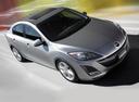 Фото авто Mazda 3 BL, ракурс: 315 цвет: серый