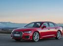 Фото авто Audi A6 C8, ракурс: 45 цвет: красный