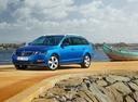 Фото авто Skoda Octavia 3 поколение [рестайлинг], ракурс: 45 цвет: синий