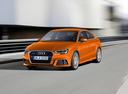 Фото авто Audi A3 8V [рестайлинг], ракурс: 45 цвет: оранжевый
