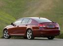 Фото авто Lexus GS 3 поколение [рестайлинг], ракурс: 135 цвет: бордовый