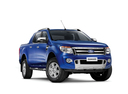 Фото авто Ford Ranger 4 поколение, ракурс: 315 цвет: синий