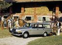Фото авто Volvo 240 1 поколение, ракурс: 45 цвет: серебряный