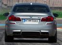 Фото авто BMW M5 F10 [рестайлинг], ракурс: 180 цвет: серый