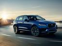 Фото авто Jaguar F-Pace 1 поколение, ракурс: 315 цвет: синий