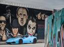Фото авто Lamborghini Huracan 1 поколение, ракурс: 45 цвет: голубой