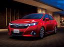 Фото авто Toyota Sai 1 поколение [рестайлинг], ракурс: 45 цвет: красный