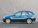 Фото авто BMW X5 E53 [рестайлинг], ракурс: 90 цвет: синий