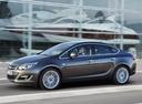 Фото авто Opel Astra J [рестайлинг], ракурс: 90 цвет: серый
