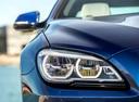Фото авто BMW 6 серия F06/F12/F13 [рестайлинг], ракурс: передние фары цвет: синий