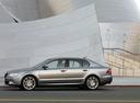 Фото авто Skoda Superb 2 поколение, ракурс: 90 цвет: серый