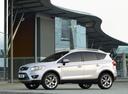 Фото авто Ford Kuga 1 поколение, ракурс: 90 цвет: белый