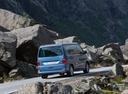 Фото авто Volkswagen California T6, ракурс: 225 цвет: синий