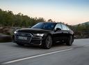 Фото авто Audi A6 C8, ракурс: 45 цвет: черный