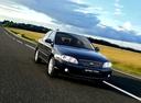 Фото авто Kia Spectra 1 поколение [рестайлинг], ракурс: 315 цвет: синий