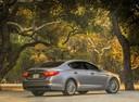 Фото авто Kia Quoris 1 поколение [2-й рестайлинг], ракурс: 225 цвет: серый