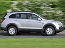 Фото авто Chevrolet Captiva 1 поколение, ракурс: 270 цвет: серебряный