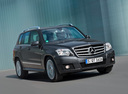 Фото авто Mercedes-Benz GLK-Класс X204, ракурс: 315 цвет: серый
