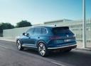 Фото авто Volkswagen Touareg 3 поколение, ракурс: 135 цвет: синий