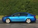 Фото авто Skoda Octavia 3 поколение, ракурс: 90 цвет: синий