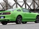 Фото авто Ford Mustang 5 поколение [2-й рестайлинг], ракурс: 225 цвет: салатовый