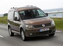 Фото авто Volkswagen Caddy 3 поколение [рестайлинг], ракурс: 315 цвет: коричневый