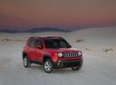 Фото авто Jeep Renegade 1 поколение, ракурс: 315 цвет: красный