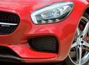 Фото авто Mercedes-Benz AMG GT C190, ракурс: передние фары цвет: красный