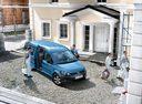 Фото авто Volkswagen Caddy 3 поколение [рестайлинг], ракурс: 315 цвет: голубой