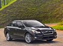 Фото авто Subaru Impreza 4 поколение, ракурс: 315 цвет: черный