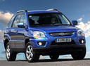 Фото авто Kia Sportage 2 поколение [рестайлинг], ракурс: 315 цвет: синий