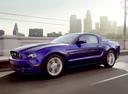 Фото авто Ford Mustang 5 поколение [2-й рестайлинг], ракурс: 45 цвет: фиолетовый