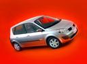 Фото авто Renault Scenic 2 поколение, ракурс: 315 цвет: серебряный