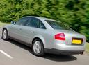 Фото авто Audi A6 4B/C5 [рестайлинг], ракурс: 135 цвет: серебряный