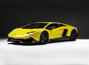 Фото авто Lamborghini Aventador 1 поколение, ракурс: 45 цвет: желтый