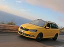 Фото авто Skoda Fabia NJ, ракурс: 45 цвет: желтый