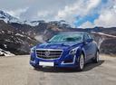 Фото авто Cadillac CTS 3 поколение, ракурс: 45 цвет: синий