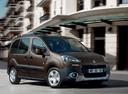Фото авто Peugeot Partner 2 поколение [рестайлинг], ракурс: 315 цвет: коричневый