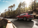 Фото авто Hyundai Santa Fe TM, ракурс: 135 цвет: красный