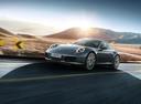 Фото авто Porsche 911 991 [рестайлинг], ракурс: 45 цвет: мокрый асфальт
