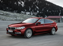 Фото авто BMW 6 серия G32, ракурс: 45 цвет: красный