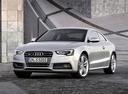 Фото авто Audi S5 8T [рестайлинг], ракурс: 45 цвет: серебряный