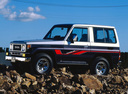 Фото авто Toyota Land Cruiser J70, ракурс: 45