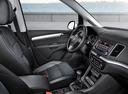 Фото авто Volkswagen Sharan 2 поколение, ракурс: торпедо
